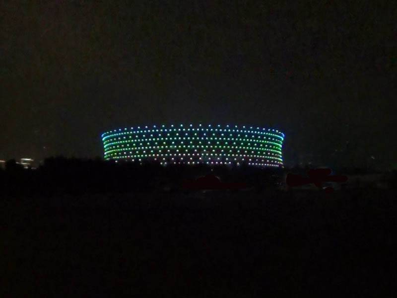 Heydar Aliyev Sports Complex, GRIVEN USA, LED ...